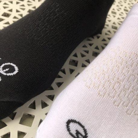 Stopki bawełniane MINI black'S & MINI white'S 2