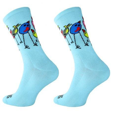 Skarpetki kolarskie FREAKY BIRDS 4